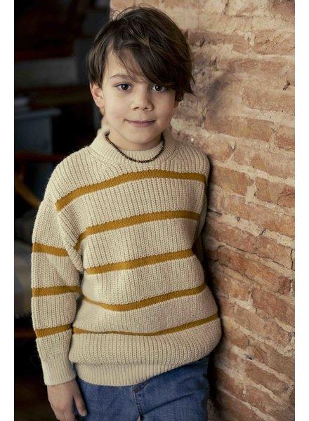 Ammehoela Jumper | Knit sweater | Pebble
