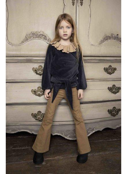 Ammehoela Liv | Flared jeans | Sand stone