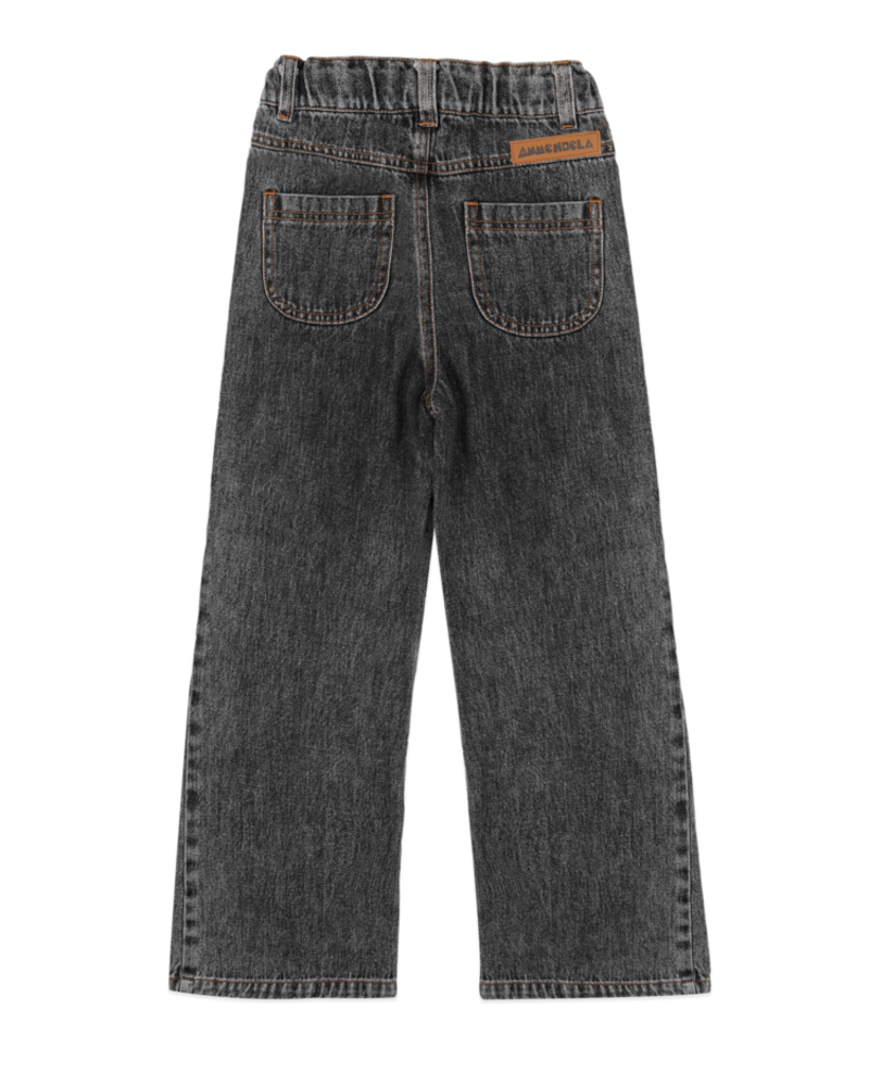 Ammehoela Puck   Flared jeans   Black washed