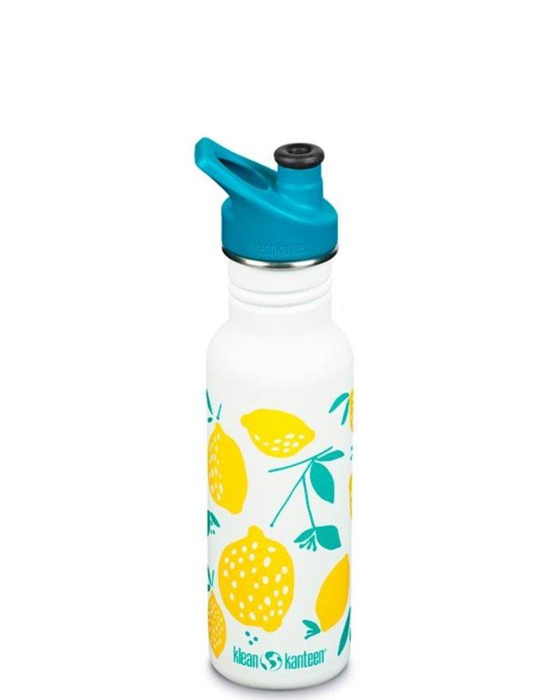 Klean Kanteen Drinkbus   Classic Sport - 532ml   Lemons