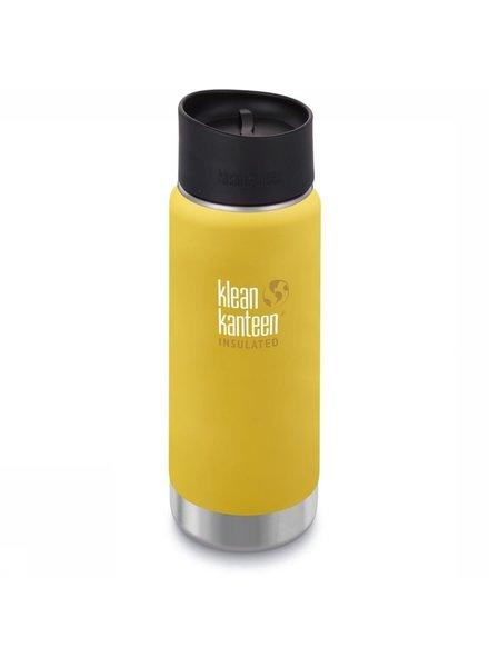 Klean Kanteen TK Wide met café cap   Insulated - 473ml   Buttercup