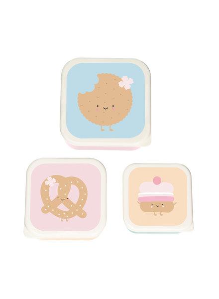 Eef Lillemor Set van 3 snackdoosjes | Sweeties