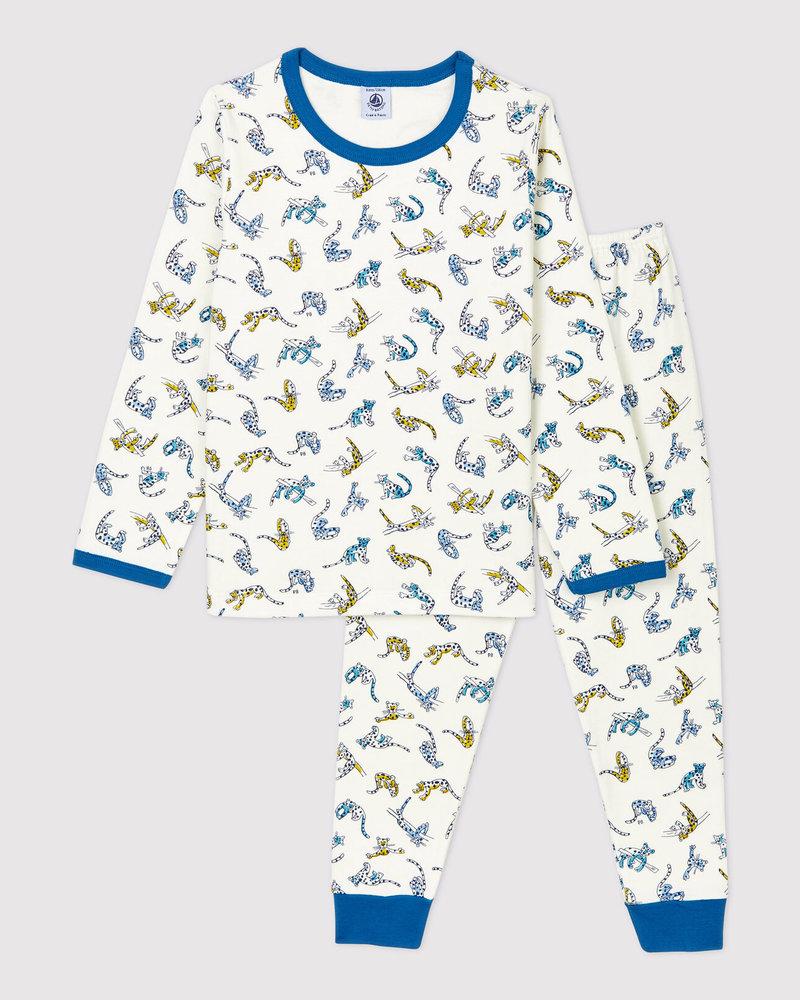 Petit Bateau Pyjama   Cheetahs