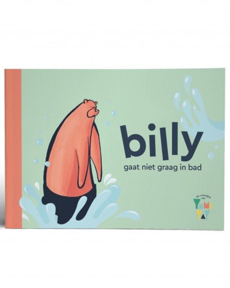 Yumi Yay Billy gaat niet graag in bad