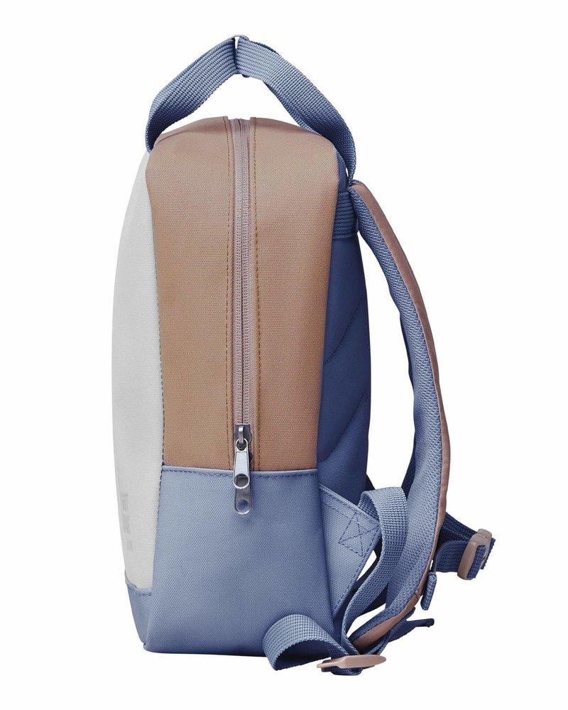 Got Bag Kleuterrugzak uit ocean plastic   Soft shell multi