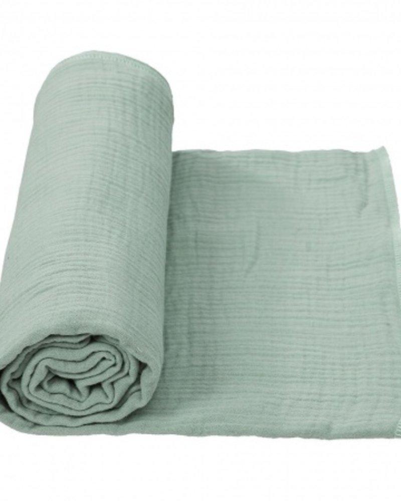 Cottonbaby Multidoek Soft XL 120x120 | Oudgroen