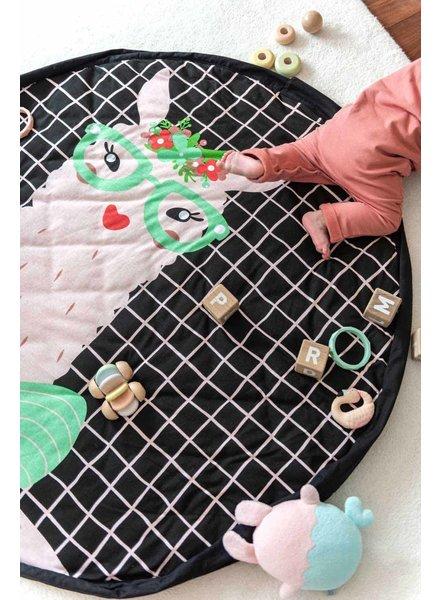 play&go Babyspeelmat en opbergtas Lama - PROMO