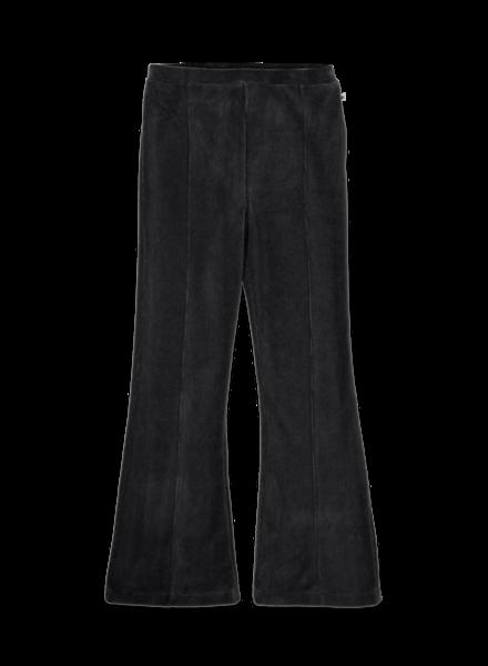 Ammehoela Liv | Flared broek velours | Pirate black