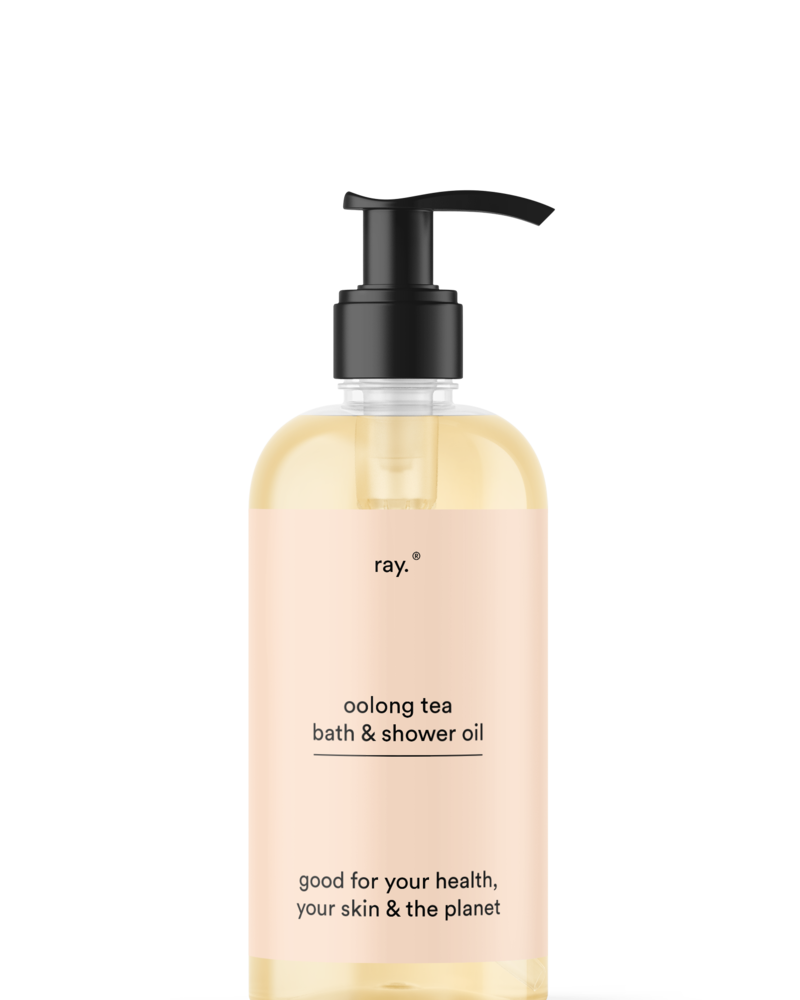 ray. Bath & shower oil 250ml   Oolong tea