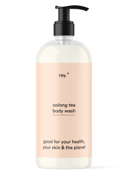 ray. Body wash 500ml   Oolong tea