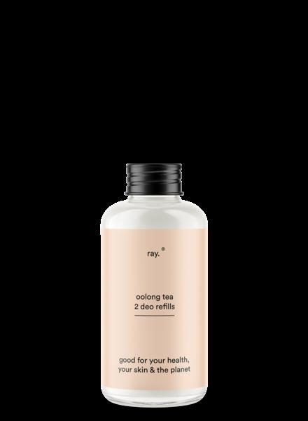 ray. Deodorant refill 100ml   Oolong tea