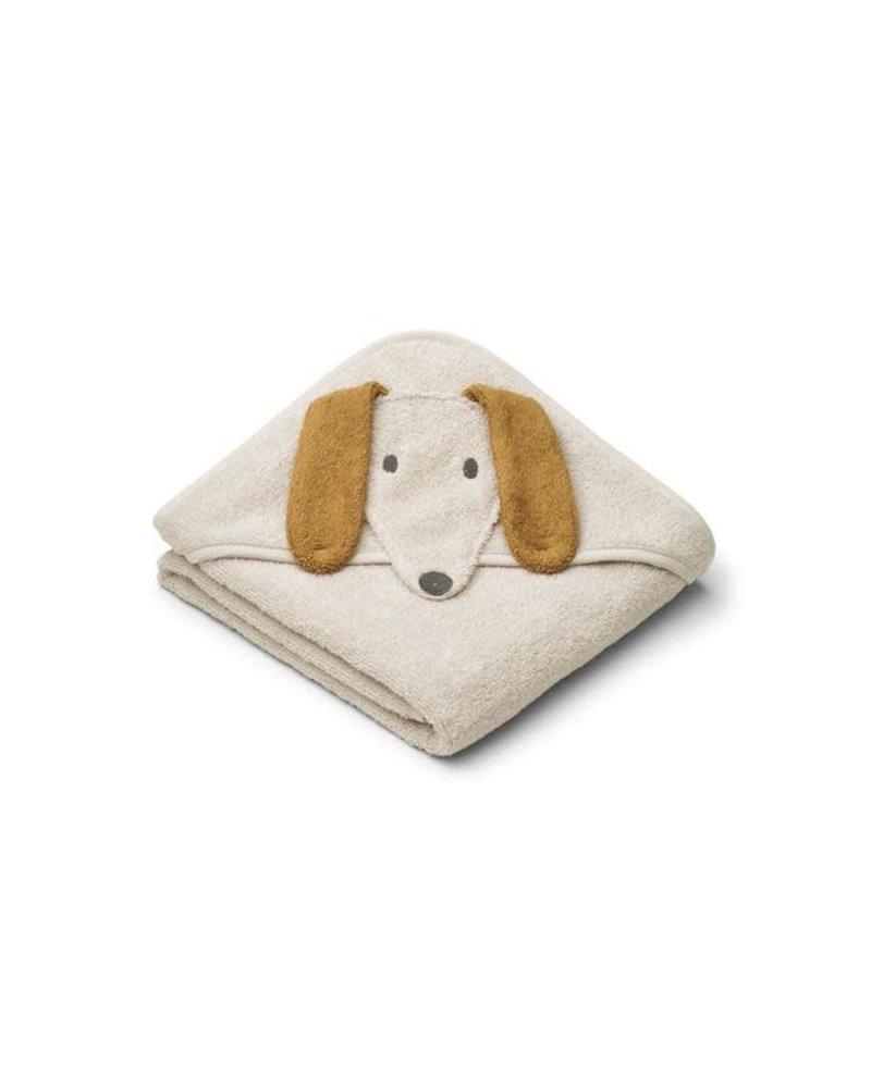 Liewood Albert kleine badcape | Dog sandy