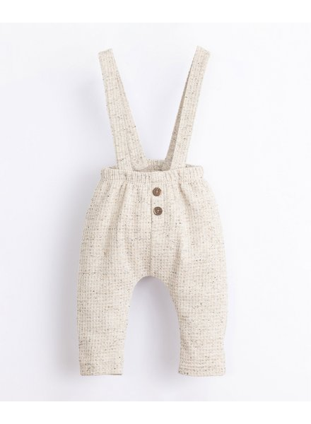 Structured broekje met afneembare bretellen | Miró