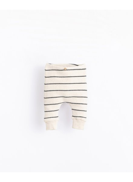 Warme gestreepte legging | Miró