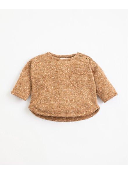 Gespikkelde sweater met recycled vezels | Far