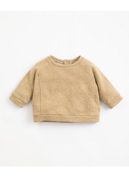 Fleece sweater | Paper melange