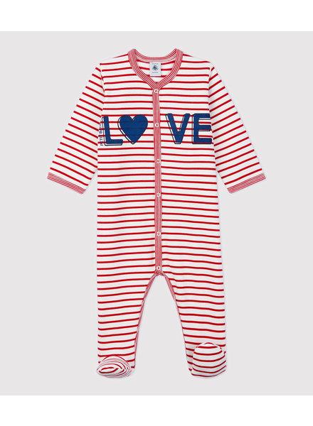 Petit Bateau Pyjama met voetjes | Love