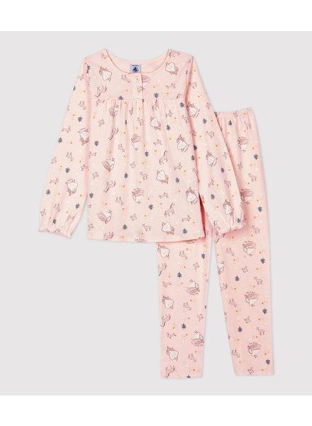 Petit Bateau Katoenen pyjama | Prinsessen