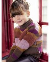 Ammehoela Roxie   Korte knit sweater   Multicolor