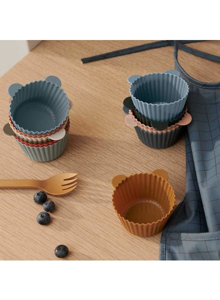 Liewood Silicone cake cup 12st. | Green multi mix