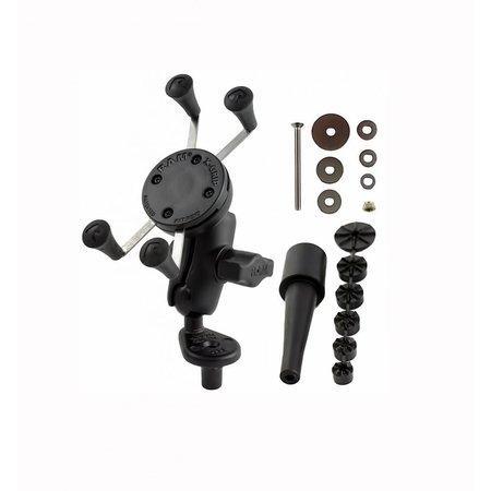 RAM Mounts RAM Combination stem mount, short arm, X-grip