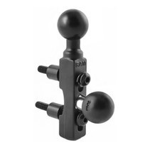 RAM CYCLE HANDLEBAR BASE W 2 BALLS