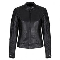 Valerie Leather Jacket Black