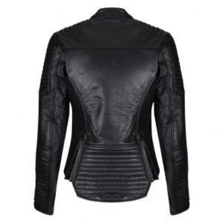 Motogirl Valerie Leather Jacket Black