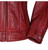 Motogirl Valerie Leather Jacket Red