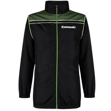 Kawasaki SPORTS SUMMER JACKET BLACK /LIME GREEN