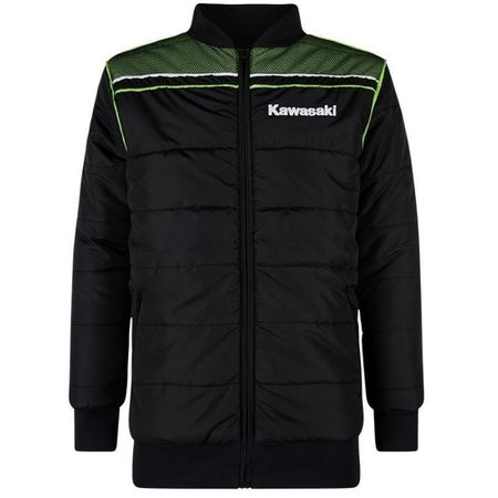 Kawasaki SPORTS WINTER JACKET BLACK /LIME GREEN