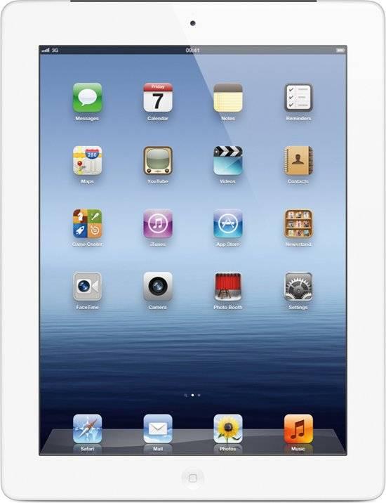 iPad 4 Wit 16GB Cellular