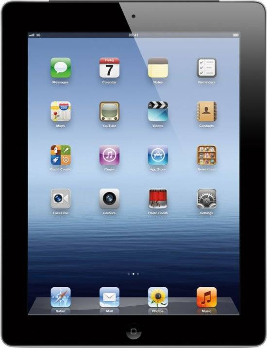 iPad 3 Zwart 16GB Wifi