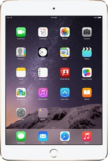 Apple iPad Air 2 16GB Goud + 4G
