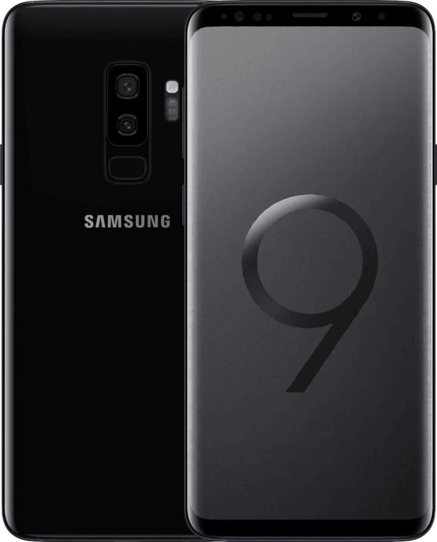 Samsung Galaxy S9 Plus Zwart
