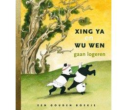 Het Gouden Boekje 'Xing Ya en Wu Wen gaan logeren'