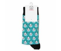 Pandasia Panda socks green with pandas