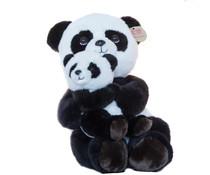 Pandasia Pluche Panda met jong