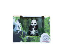 Pandasia Gift set panda with bamboo