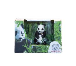 Pandasia Gift set panda with bamboo