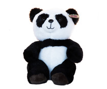 Pandasia Plush panda sitting medium