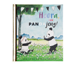Das goldene Buch 'Hurra, ein Pandajunges!'