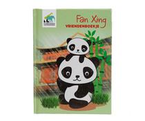 Pandasia Fan Xing vriendenboekje
