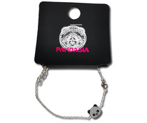 Pandasia Silver colored panda bracelet