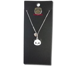 Pandasia  Panda necklace silver colored