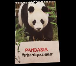 Pandasia Geburtstagskalender A4