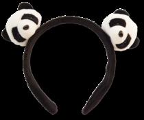 Panda hair band