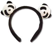 Pandasia Panda hair band