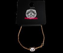 Pandasia goldfarbenes Panda-Armband
