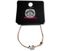 Pandasia Goudkleurig armbandje panda